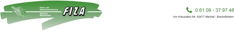 FIZA Auszeichnungsgeräte-Vertriebs GmbH Logo